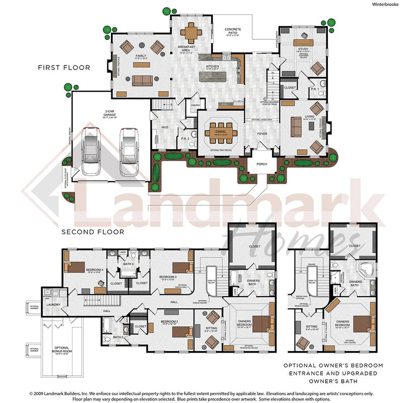 Winterbrooke Floor Plan