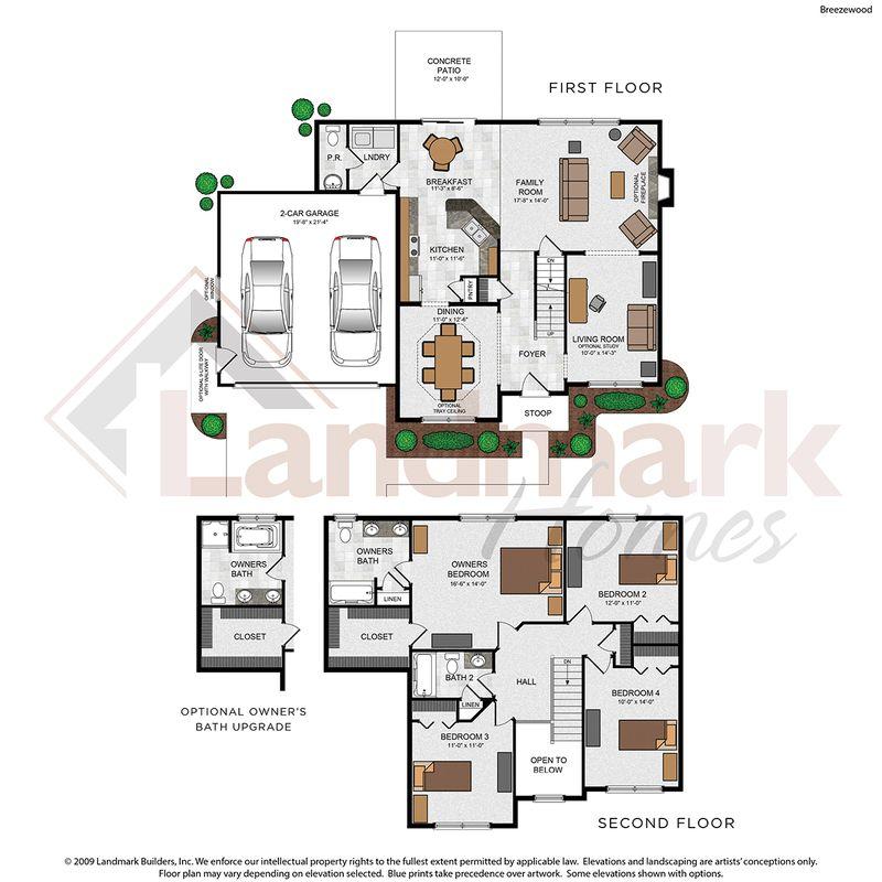 Breezewood Floor Plan