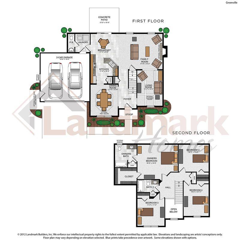 Greenville Floor Plan