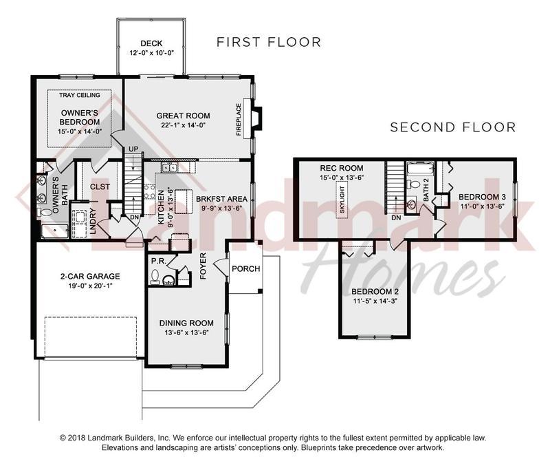 The Pineberry Floor Plan