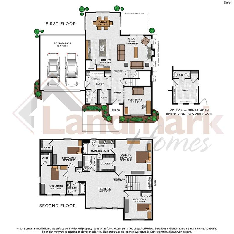 Darien Floor Plan
