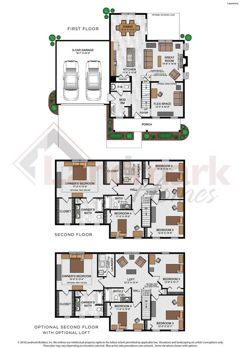Lawrence Floor Plan