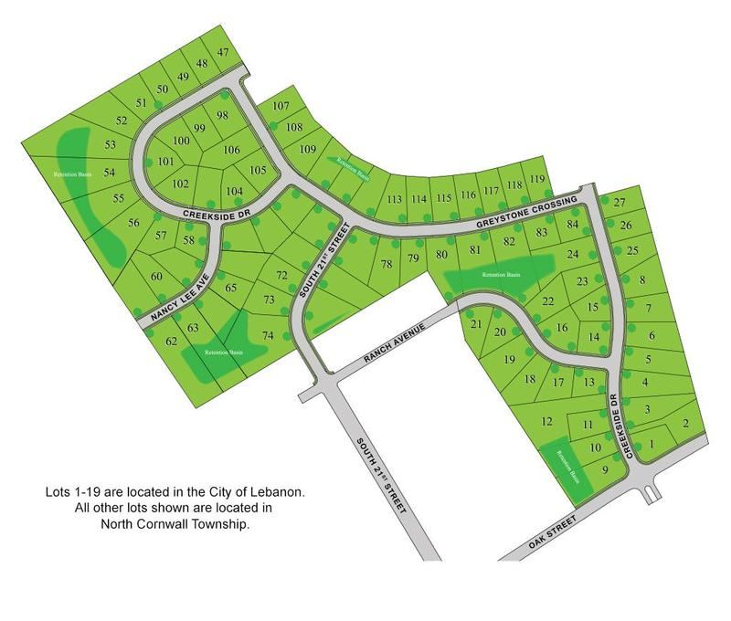 Greystone Crossing Sitemap
