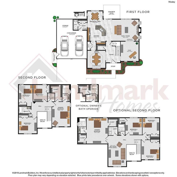 Wesley Floor Plan