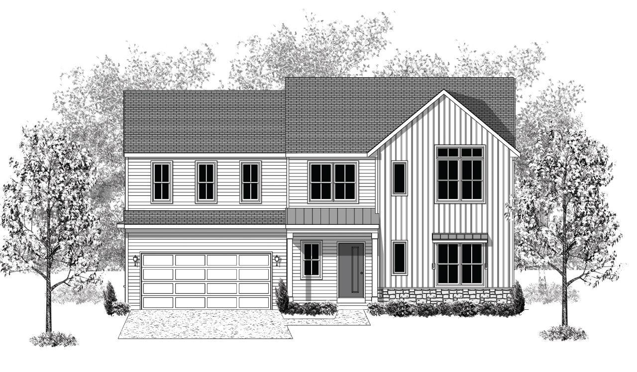 Exterior featured in the Lawrence By Landmark Homes  in Lancaster, PA