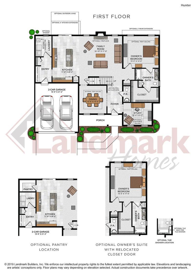 Hunter First Floor Plan