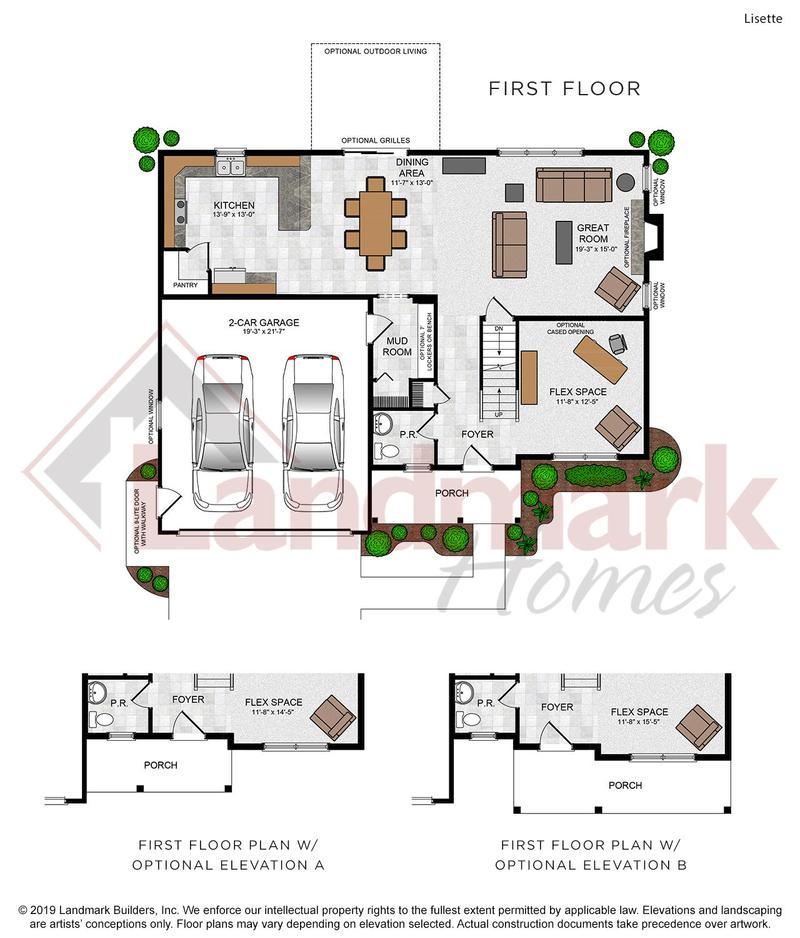 Lisette First Floor Plan
