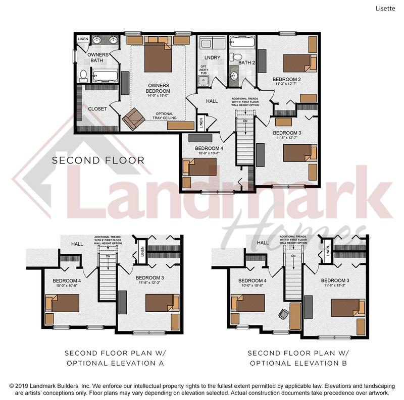 Lisette Second Floor Plan