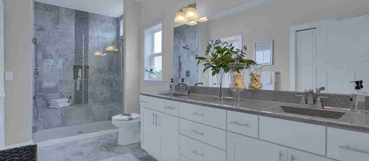 New Home Luxury Bathroom in Wrightsville PA