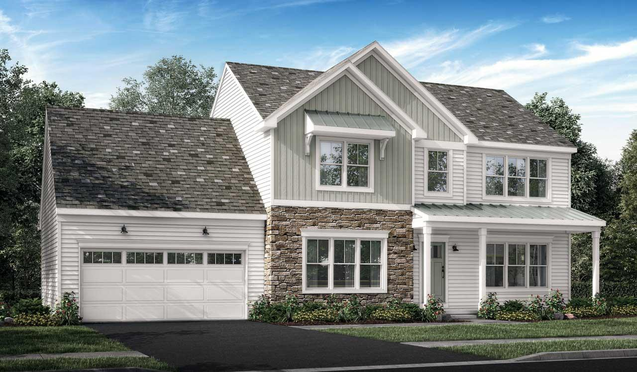 Exterior featured in the Huntington By Landmark Homes  in Harrisburg, PA