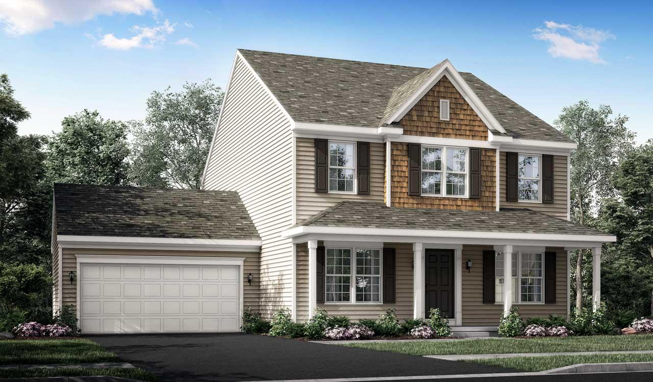 Exterior featured in the Laurel By Landmark Homes  in Harrisburg, PA