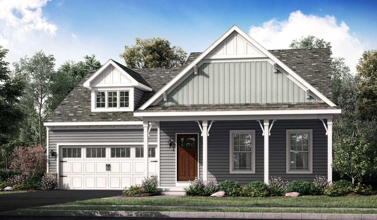 Exterior featured in the Atworth By Landmark Homes  in Lancaster, PA