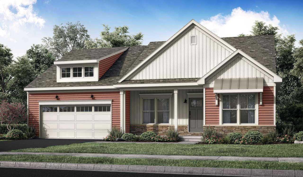 Exterior featured in the Norton By Landmark Homes  in Harrisburg, PA