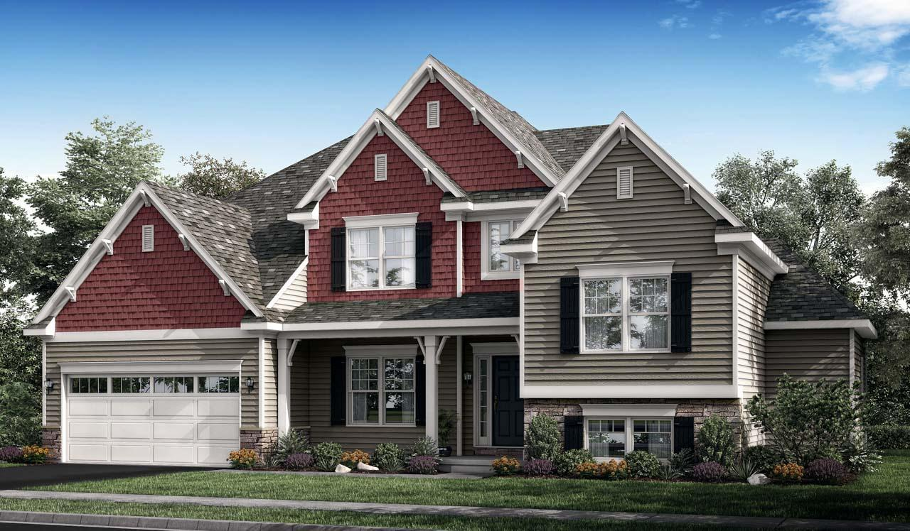 Exterior featured in the Sullivan By Landmark Homes  in Harrisburg, PA