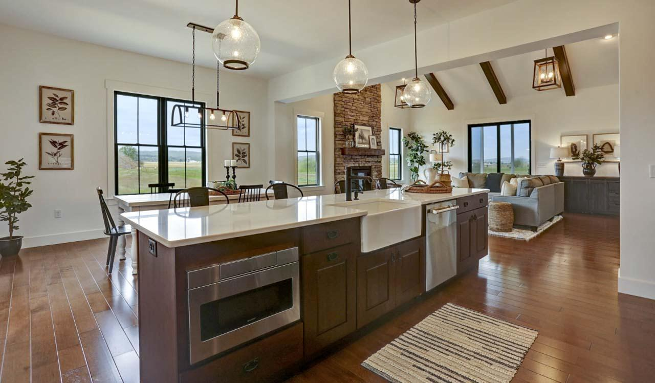 Kitchen featured in The Brentwood By Landmark Homes  in Lancaster, PA
