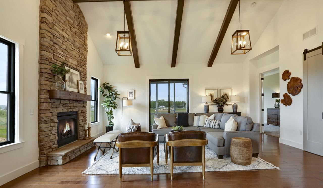 Living Area featured in The Brentwood By Landmark Homes  in Lancaster, PA