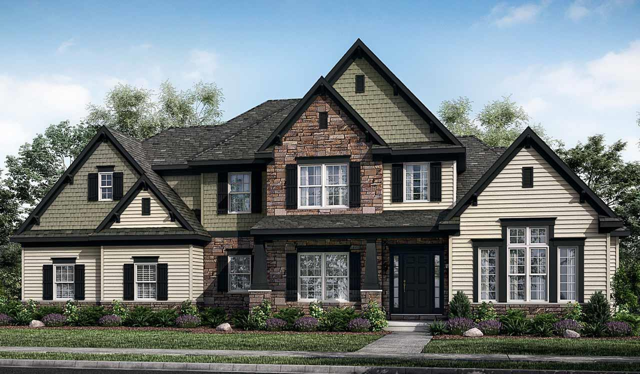 Exterior featured in the Kensington By Landmark Homes  in Harrisburg, PA