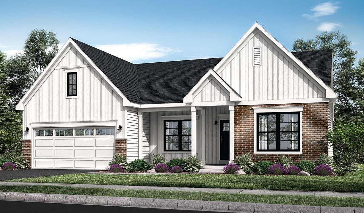 Exterior featured in the Madison By Landmark Homes  in Harrisburg, PA