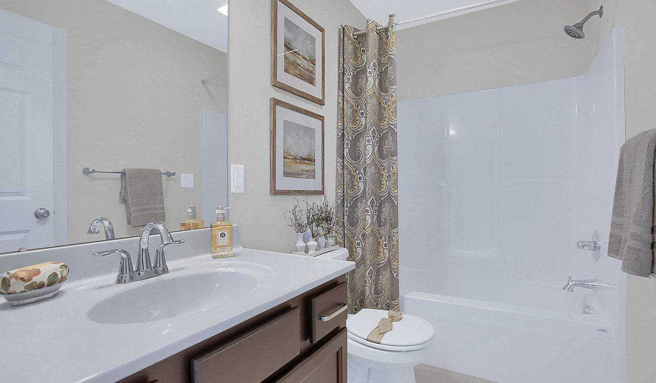 Bathroom featured in the Darien By Landmark Homes  in Lancaster, PA