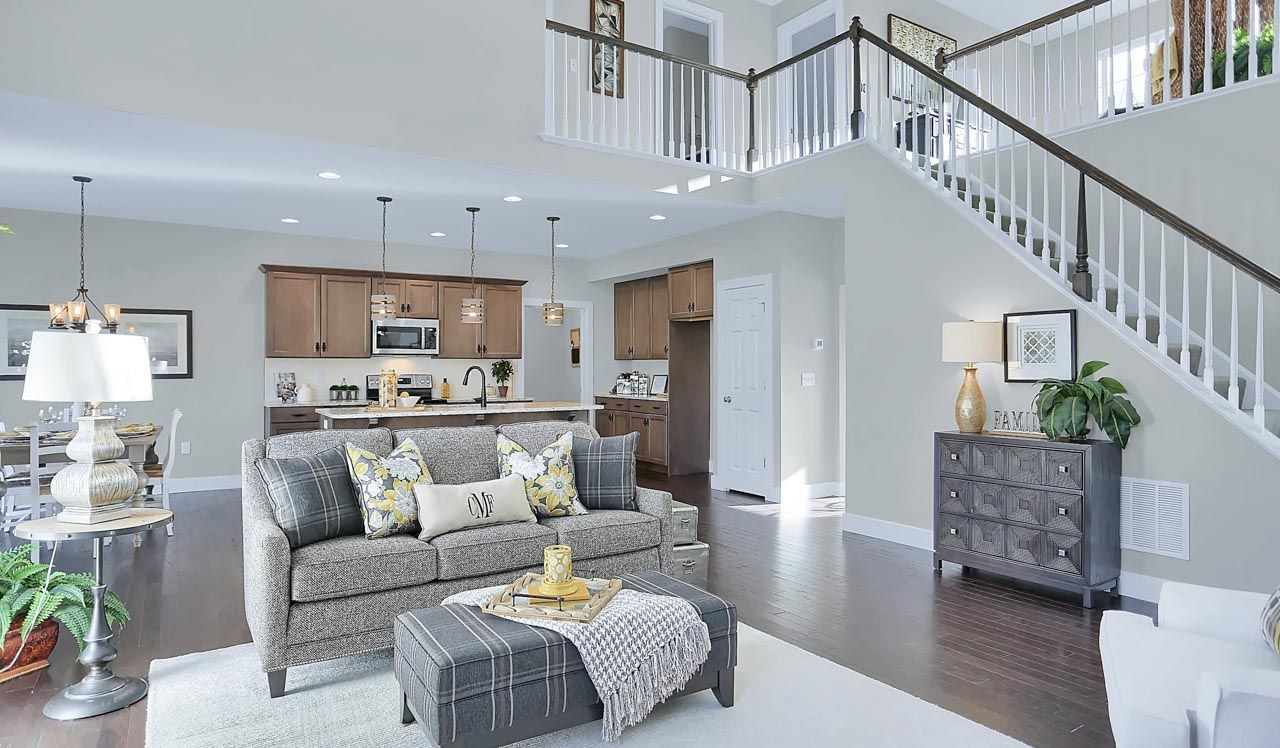 Living Area featured in the Hunter By Landmark Homes  in Lancaster, PA
