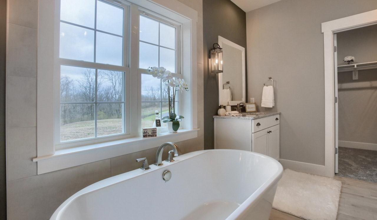 Bathroom featured in the Kensington By Landmark Homes  in Harrisburg, PA