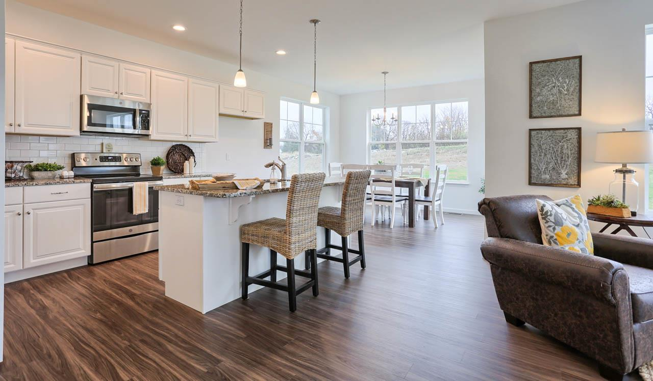 Kitchen featured in the Lawrence By Landmark Homes  in Lancaster, PA