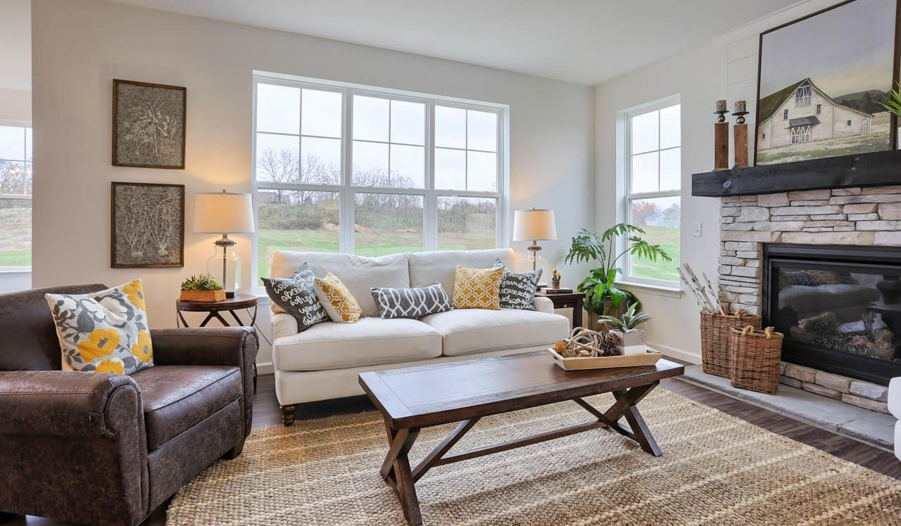 Living Area featured in the Lawrence By Landmark Homes  in Harrisburg, PA