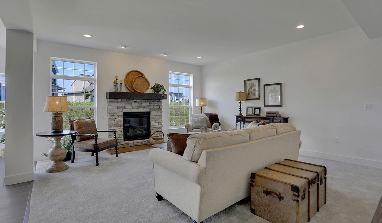 Living Area featured in the Stratford By Landmark Homes  in Harrisburg, PA