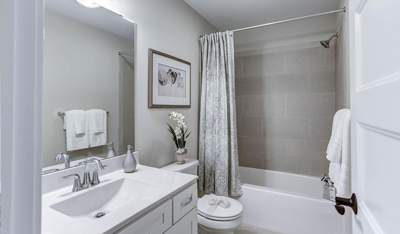 Bathroom featured in the Westminster By Landmark Homes  in Harrisburg, PA