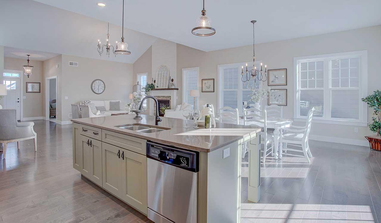 Kitchen featured in The Plymouth By Landmark Homes  in Lancaster, PA