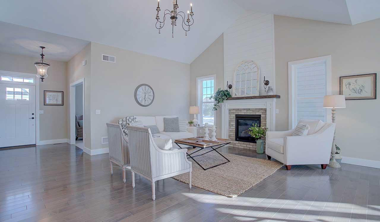 Living Area featured in The Plymouth By Landmark Homes  in Lancaster, PA