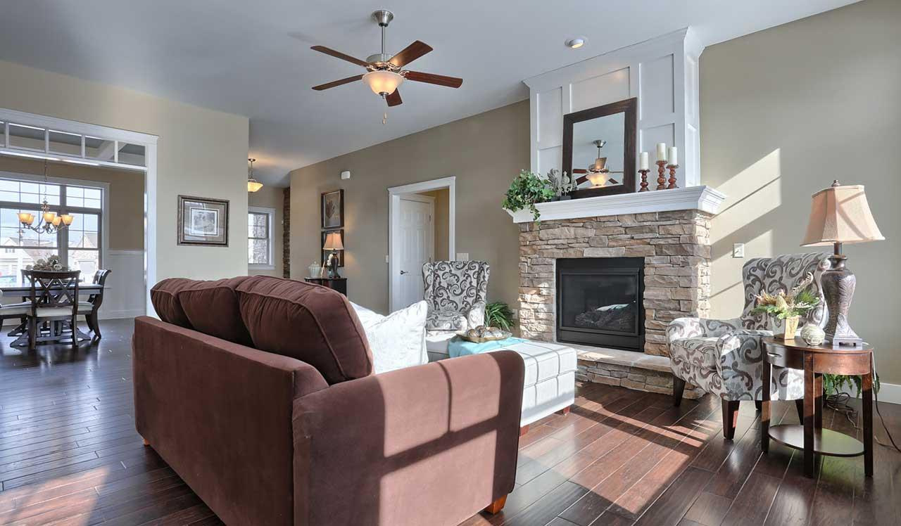 Living Area featured in the Stonecroft By Landmark Homes  in Lancaster, PA