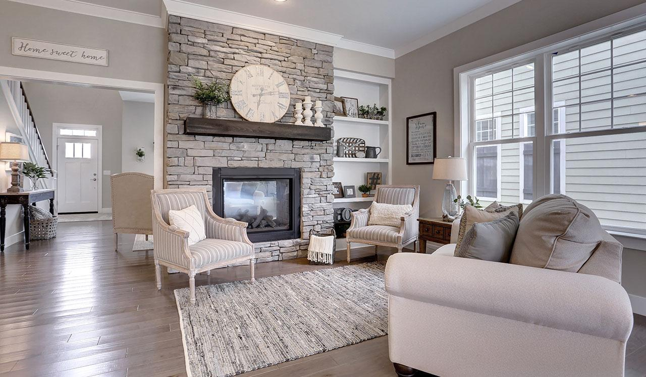 Living Area featured in The Thorndale By Landmark Homes  in Lancaster, PA
