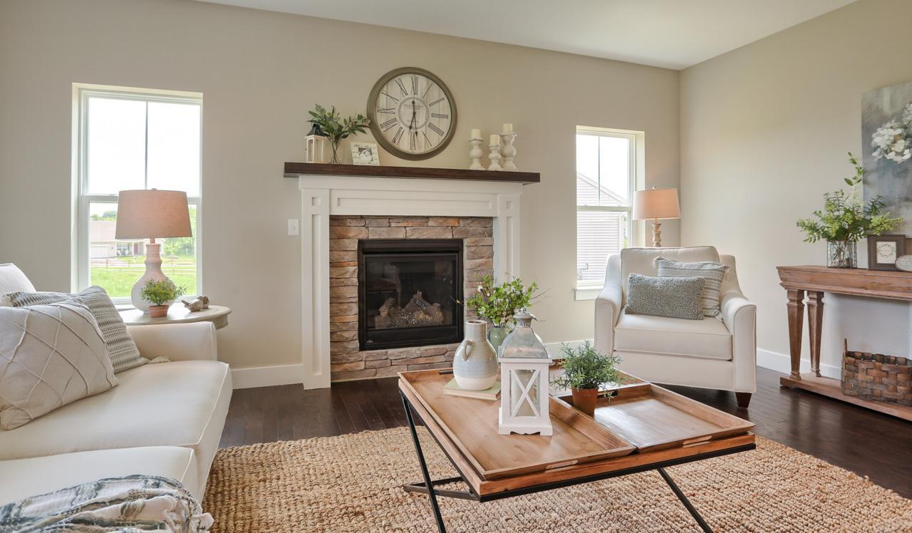 Living Area featured in the Norton By Landmark Homes  in Harrisburg, PA