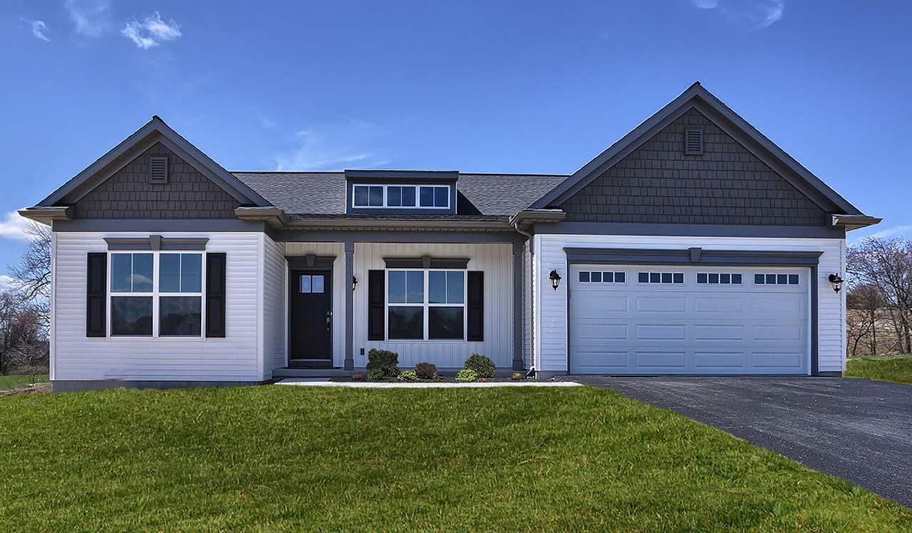 Exterior featured in the Blakely By Landmark Homes  in Harrisburg, PA