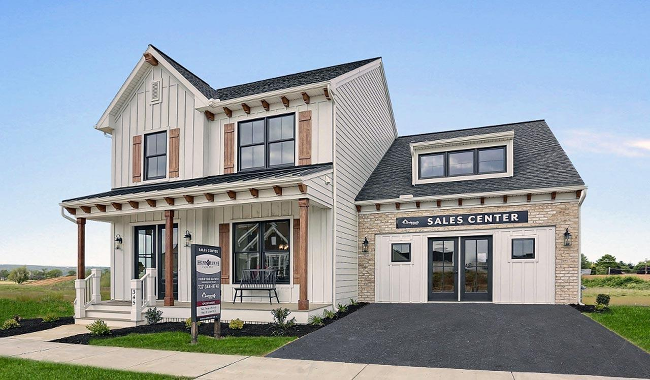 Exterior featured in The Brentwood By Landmark Homes  in Lancaster, PA
