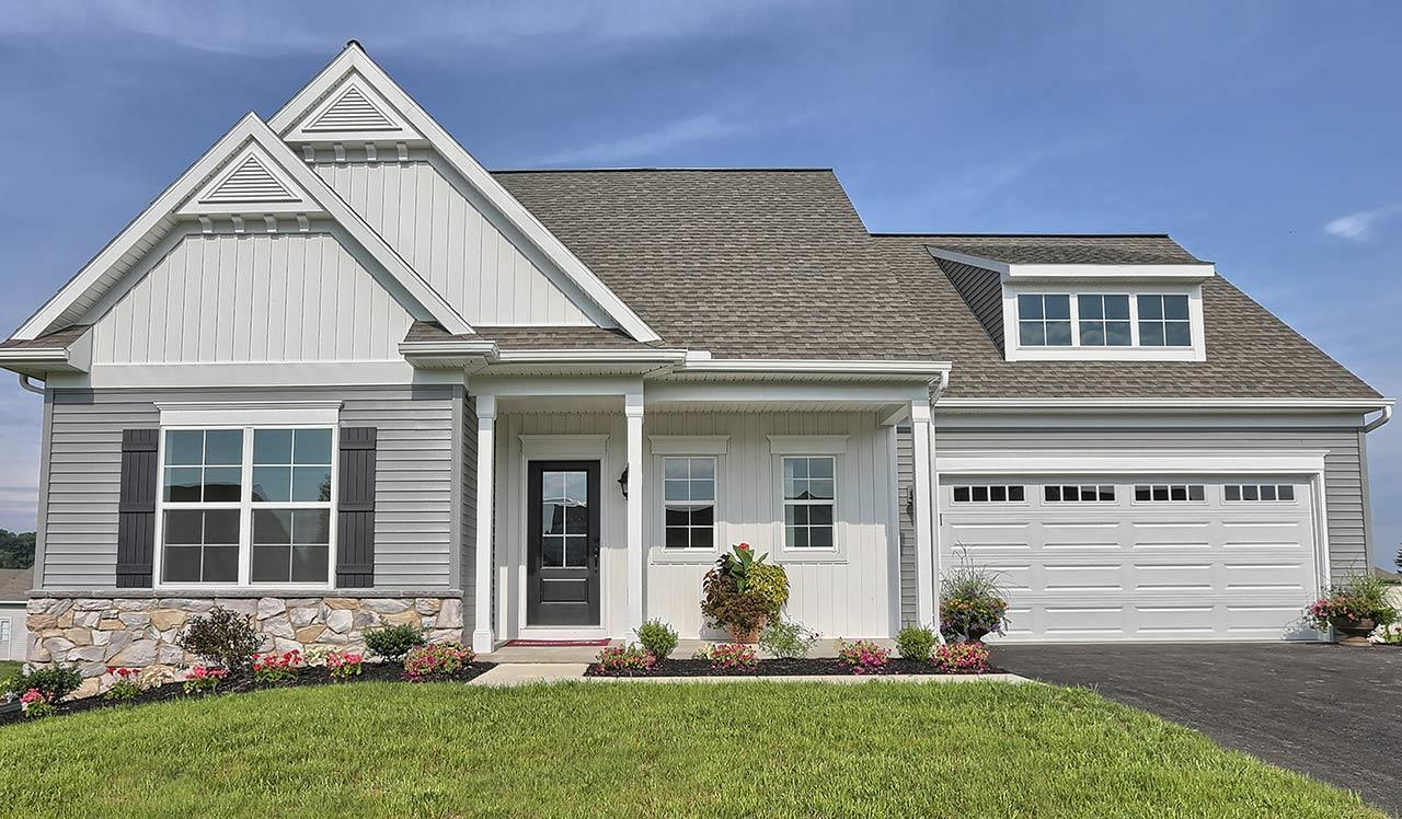 Exterior featured in the Hartford By Landmark Homes  in Reading, PA