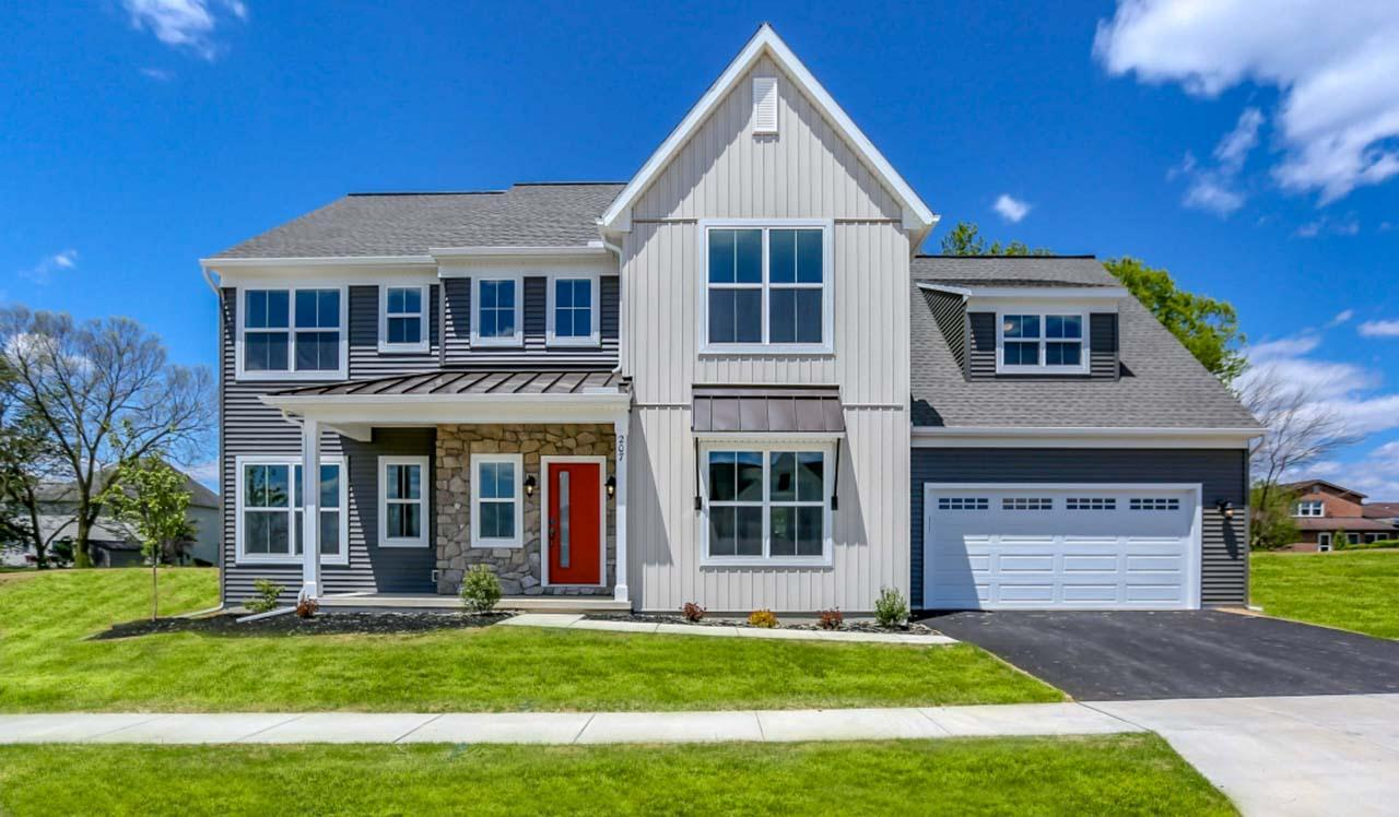 Exterior featured in the Wesley By Landmark Homes  in Harrisburg, PA