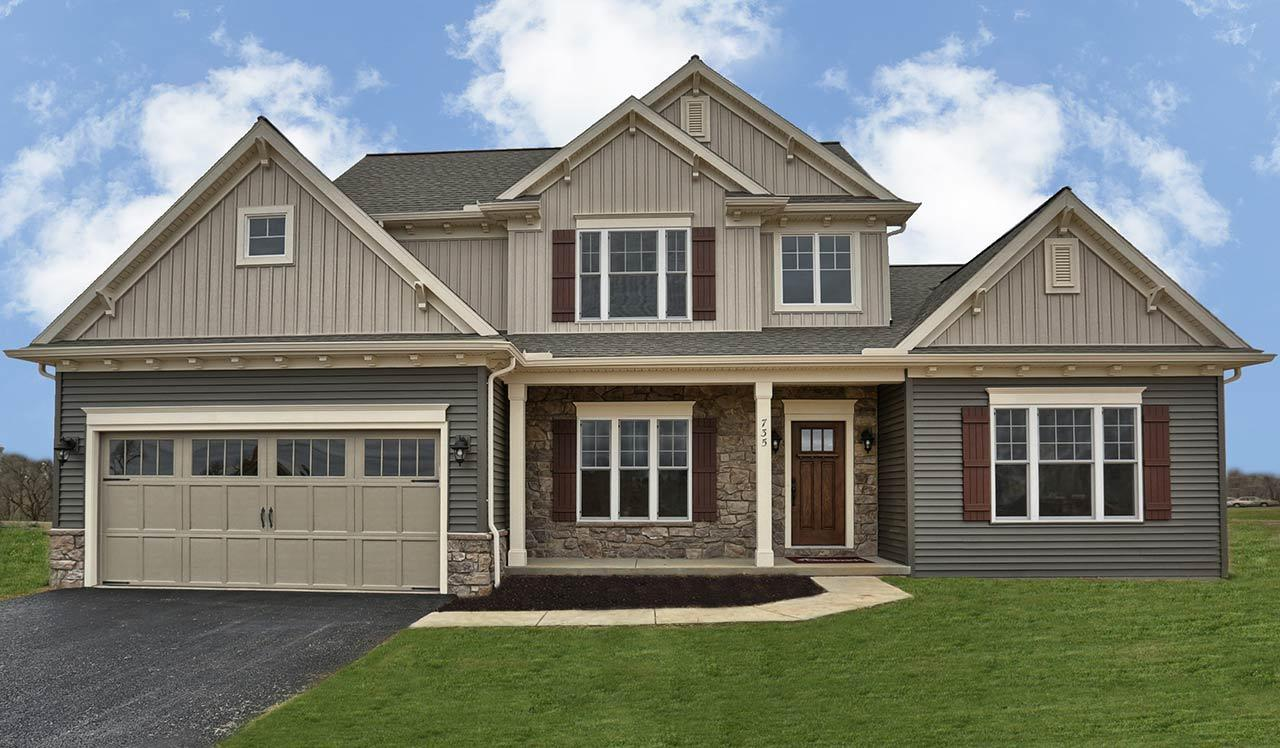 Exterior featured in the Hunter By Landmark Homes  in Lancaster, PA
