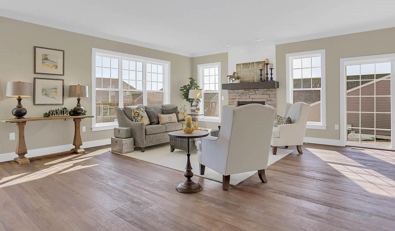Living Area featured in the Atworth By Landmark Homes  in Lancaster, PA