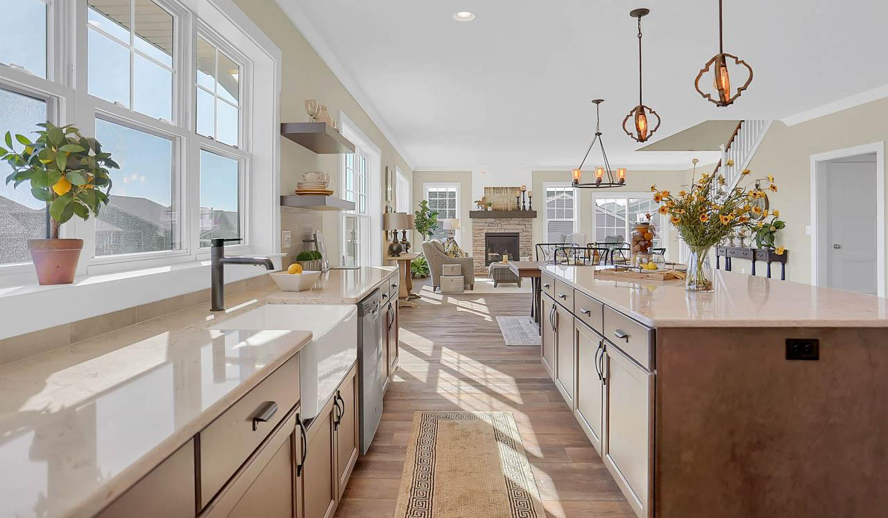 Kitchen featured in the Atworth By Landmark Homes  in Lancaster, PA