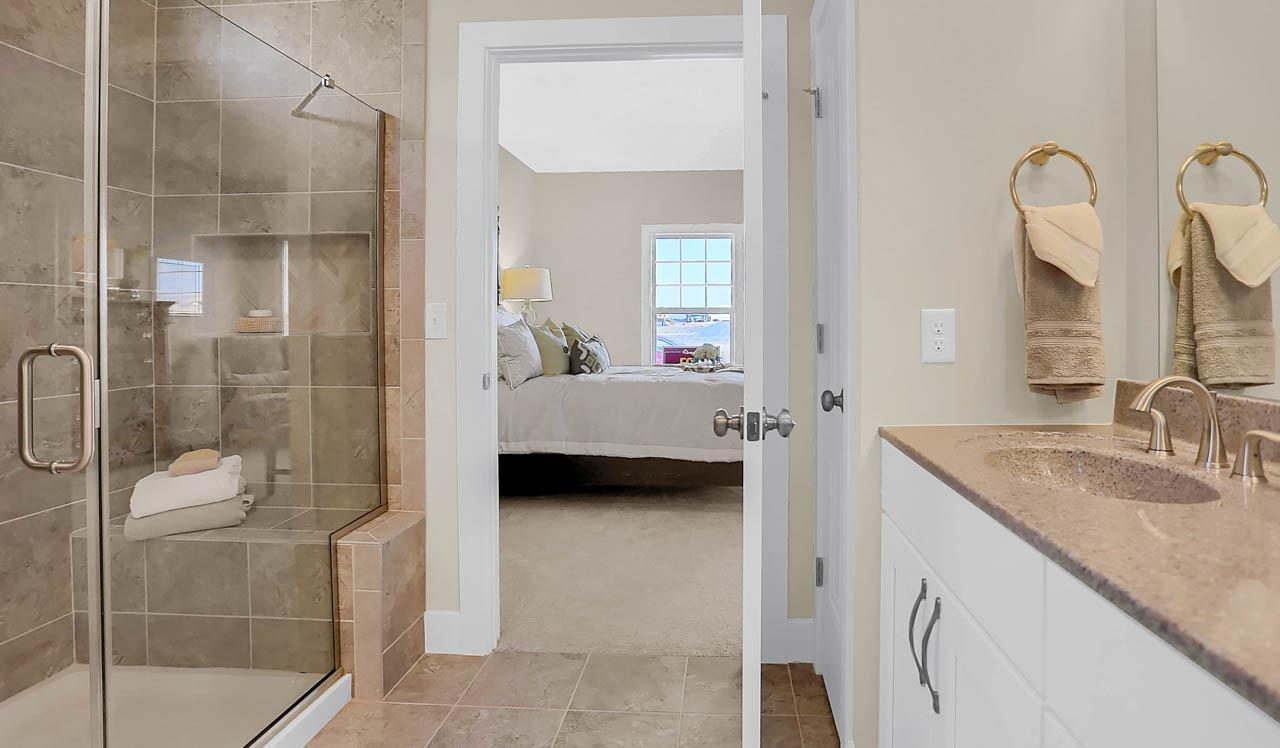 Bathroom featured in the Atworth By Landmark Homes  in Lancaster, PA