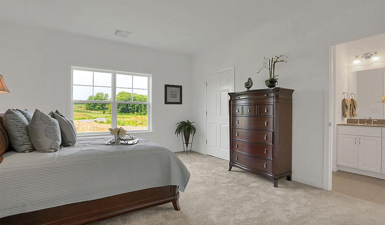 Bedroom featured in the Preston By Landmark Homes  in Reading, PA