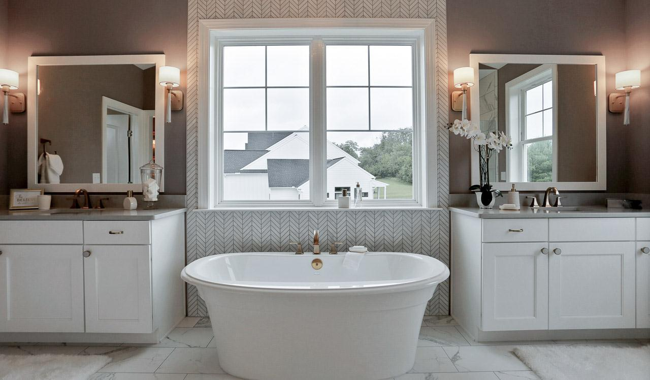 Bathroom featured in the Silverbrooke By Landmark Homes  in York, PA
