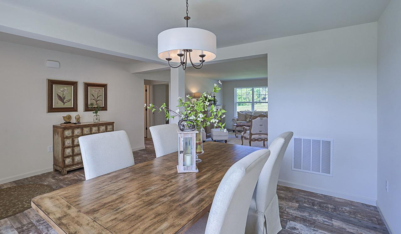 Living Area featured in the Morrison By Landmark Homes  in Reading, PA