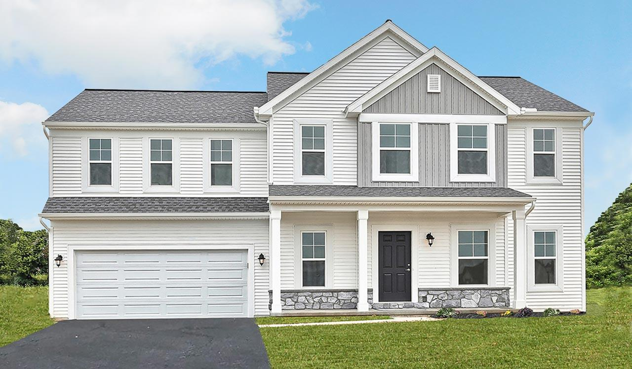 Exterior featured in the Lawrence By Landmark Homes  in Harrisburg, PA