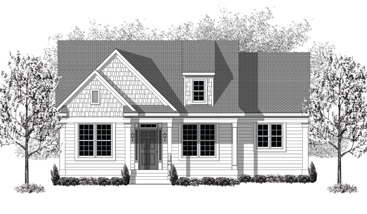 Exterior featured in the Custom By Landmark Homes  in Lancaster, PA