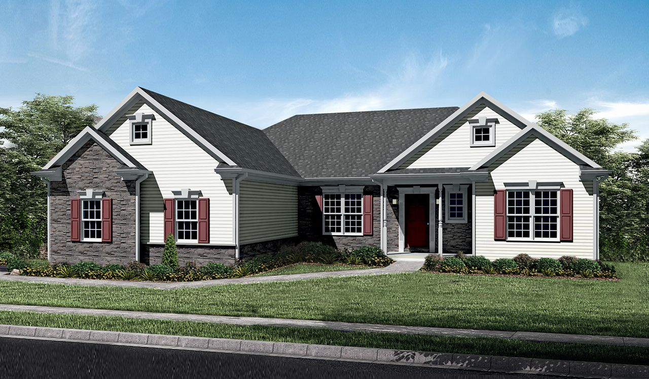 Exterior featured in the Stonecroft By Landmark Homes  in Lancaster, PA
