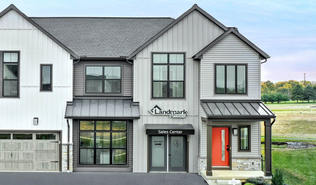 Exterior featured in the Avery  By Landmark Homes  in Harrisburg, PA