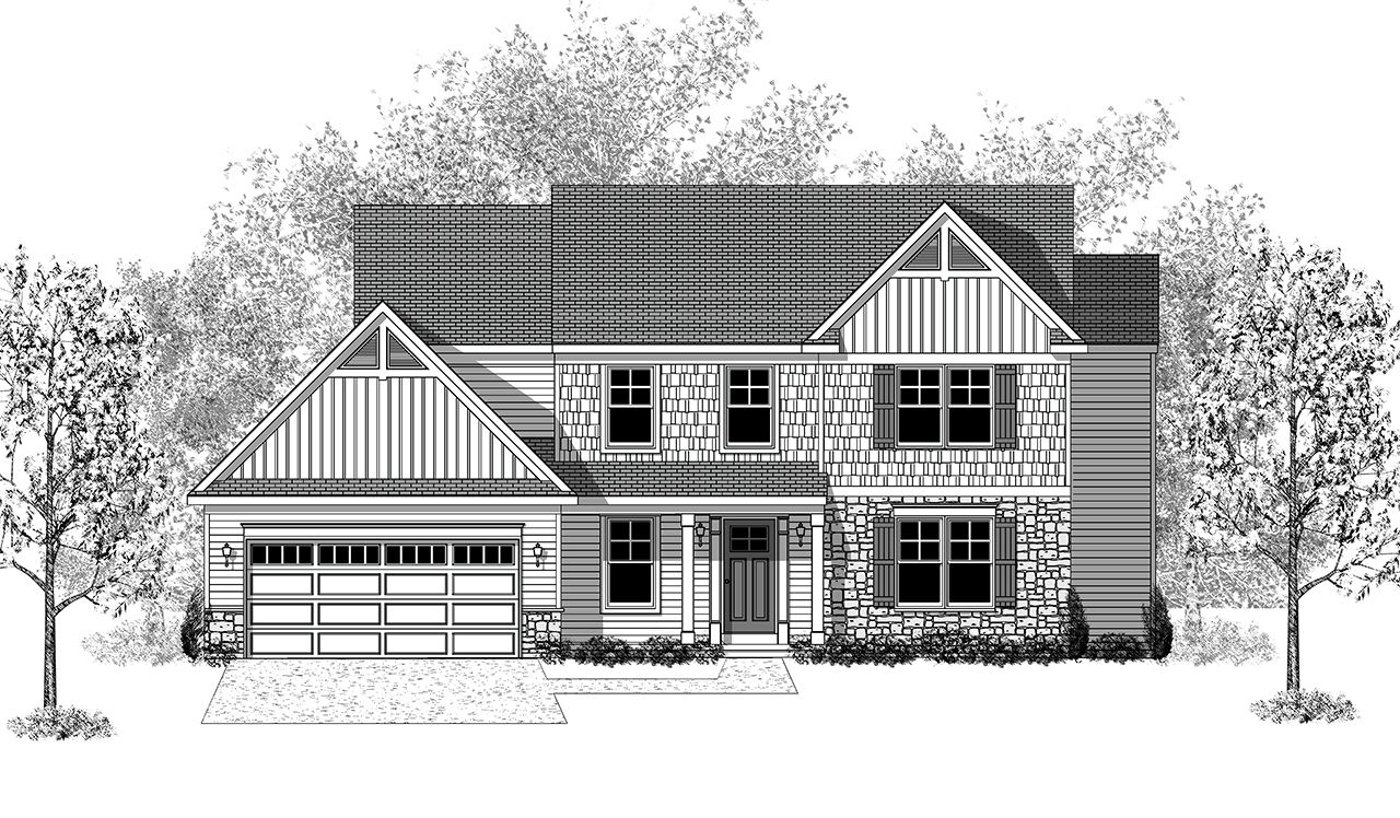 Exterior featured in the Glenwood By Landmark Homes  in Lancaster, PA